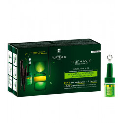 TRIPHASIC VHT ATP INTENSIF, Sérum régénérateur antichute - 8 flacons de 5,5 ml