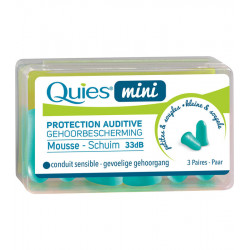QUIES Protections auditives Enfants. Bt 3 paires