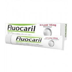 FLUOCARIL Dentifrice Bi-Fluoré 145 mg, Blancheur. Tube 75 ml