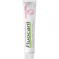 FLUOCARIL Dentifrice Bi-Fluoré 145 mg, Dents Sensibles. Lot de 2 Tubes 75 ml
