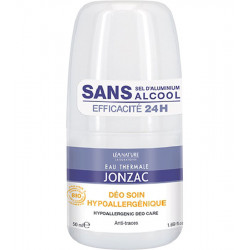 JONZAC NUTRITIVE Déo soin hypoallergénique 24h. Roll-On 50 ml