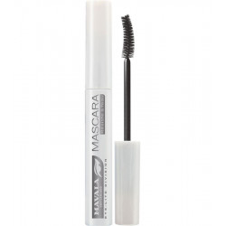 Mascara waterproof bleu glacier.