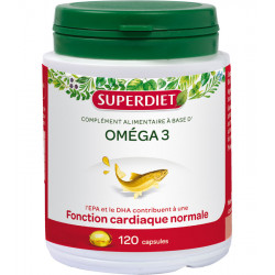 CARDIOVASCULAIRE, Omega 3 -  120 Capsules