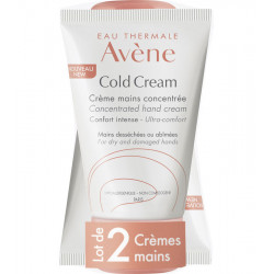 COLD CREAM, Crème Mains - 2x50 ml