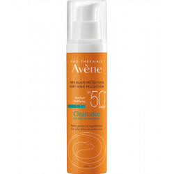 CLEANANCE, Protection solaire matifiante SPF50+ - 50 ml