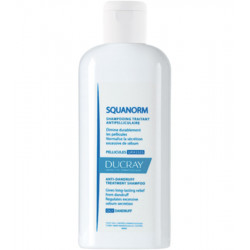 DUCRAY SQUANORM Shampooing Antipelliculaire, Pellicules Grasses - 200 ml